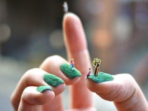 ужасные ногти