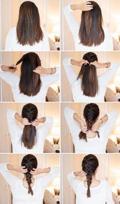 прически на длинные волосы за 5 минут