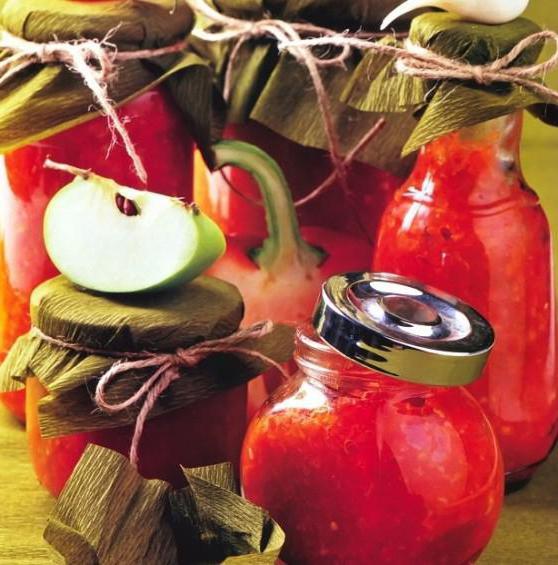 самая вкусная аджика из помидор