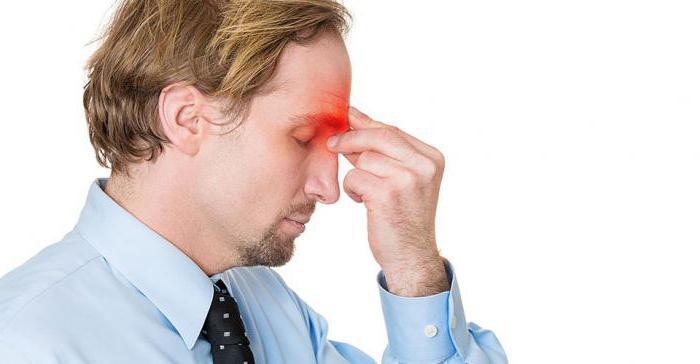 Как болит голова при гайморите