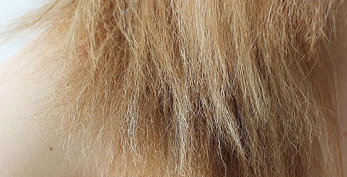 средства по уходу за обесцвеченными волосами