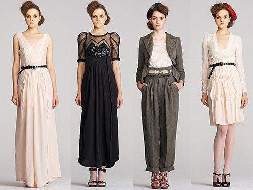 стили женского платья