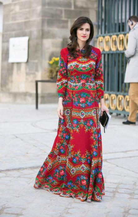 платье в стиле годе