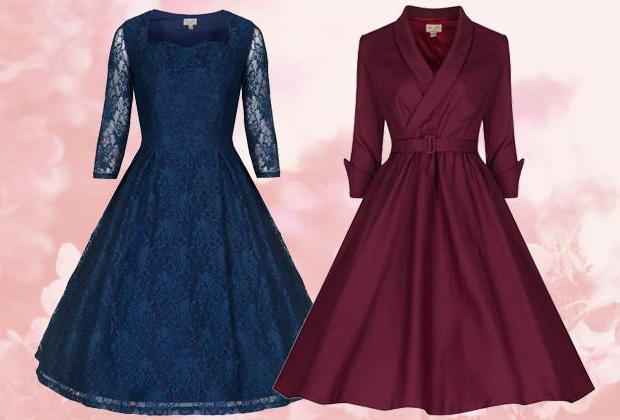 платья в стиле 20 годов