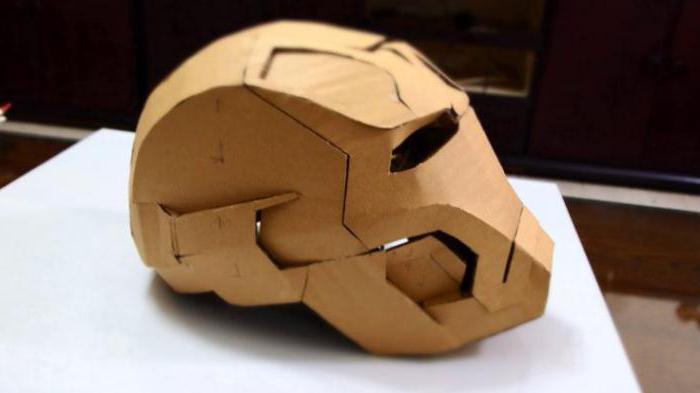 как сделать шлем из бумаги