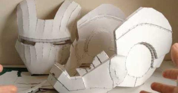 шлем-каска из бумаги