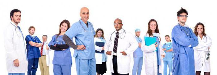 категории врачей