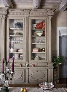 встроенные шкафы в стиле прованс