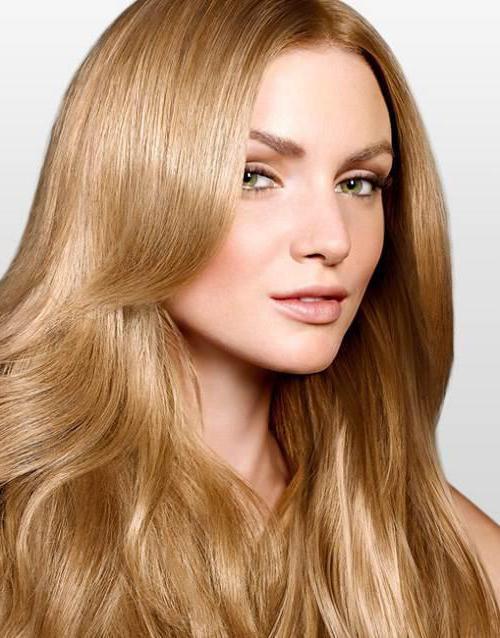 цвет волос золотисто русый