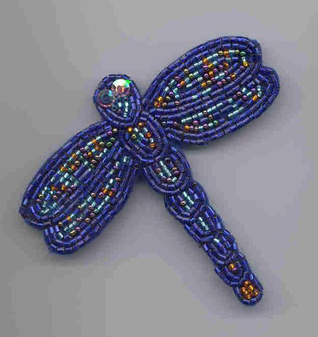 Схема стрекозы из бисера