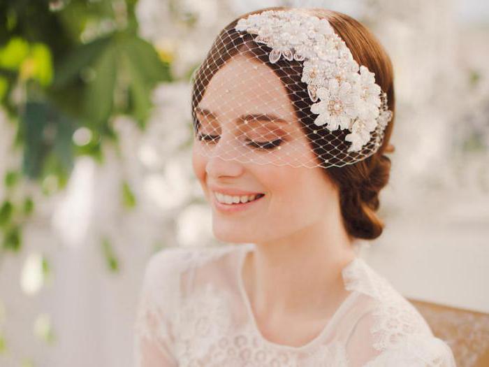 свадебные платья и фата