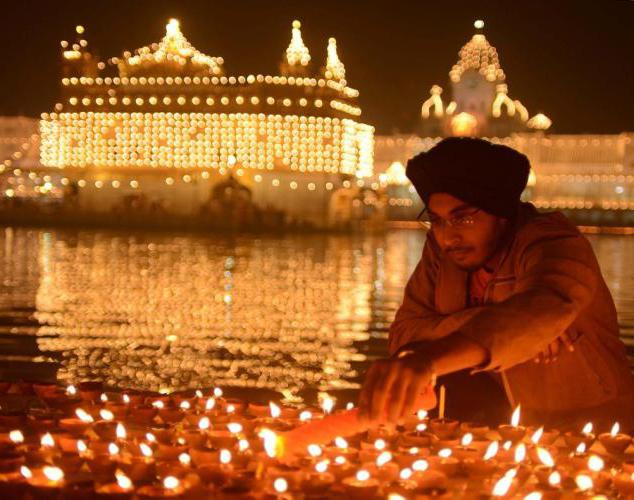 дивали праздник света и огня в индии
