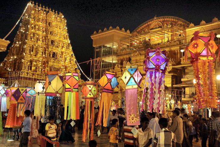 фото праздника дивали в индии