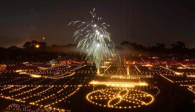 праздник огней дивали в индии