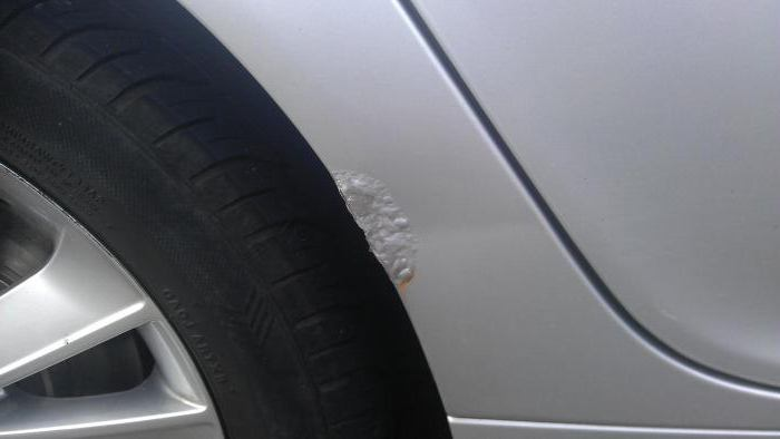 как убрать рыжики с кузова автомобиля