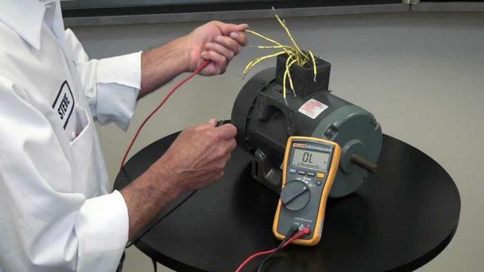 как проверить обмотку электродвигателя мультиметром