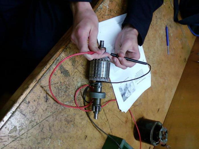 Как проверить ротор болгарки