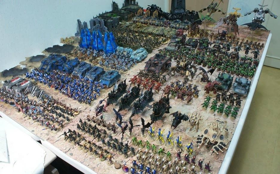 Фигурки Warhammer 40000. Миниатюры, статуэтки Примархов