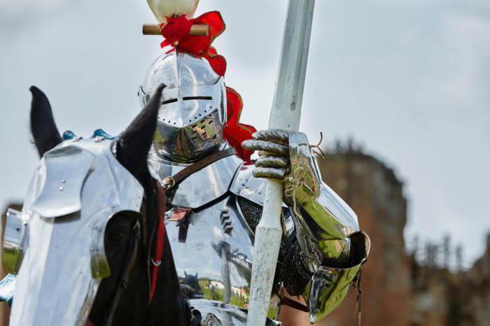 доспехи рыцарей средневековья фото и описание