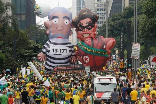 президент бразилии дилма руссефф импичмент