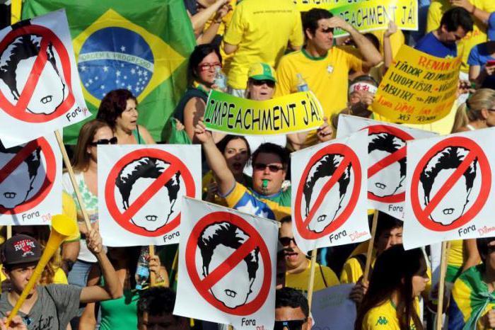 импичмент президенту бразилии