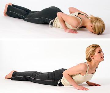 гимнастика при остеохондрозе шейного и грудного отдела позвоночника