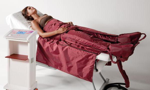 Лімфодренажний масаж ніг