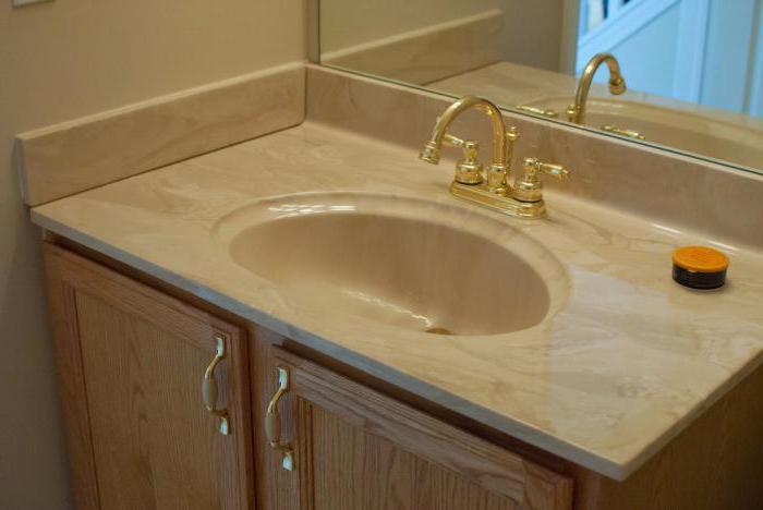 Столешница для раковины в ванную