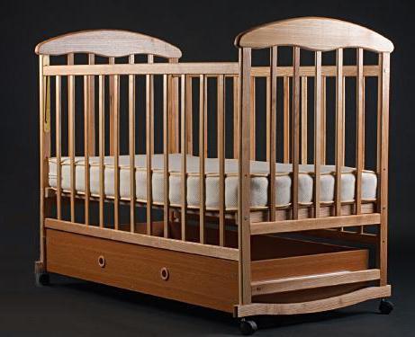кроватка для новорожденных наталка ольха светлая