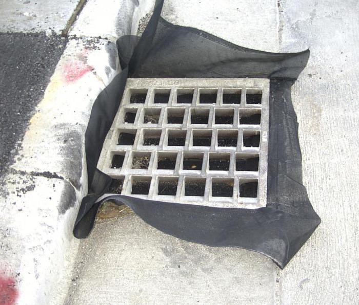 Устройство ливневой канализации своими руками