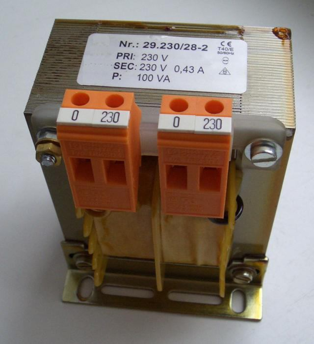 как подключить трансформатор 220 на 36 вольт