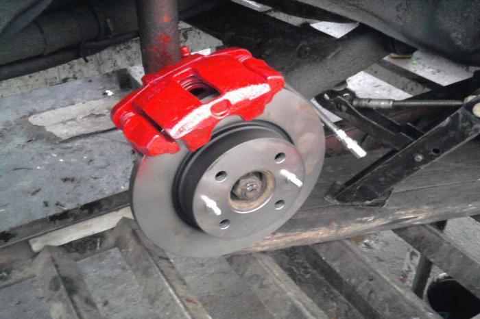 суппорт дискового тормоза