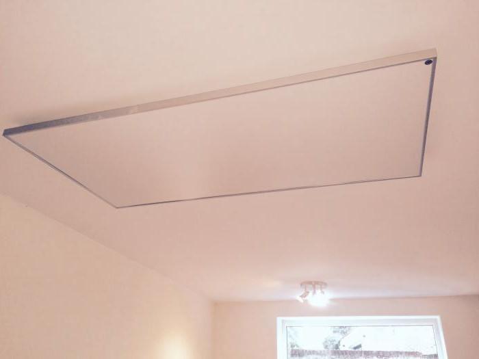 пленочный теплый потолок плэн