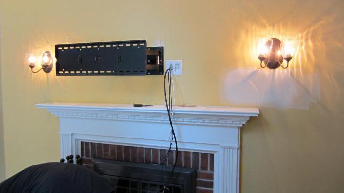телевизор на стену как можно спрятать провода
