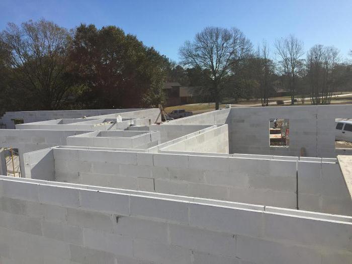 Рекомендации по применению ячеистого бетона