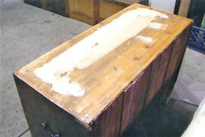 реставрация комода своими руками в домашних условиях