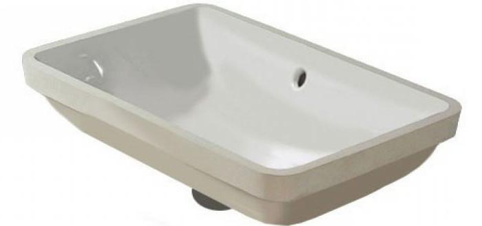 высота установки умывальника в ванной