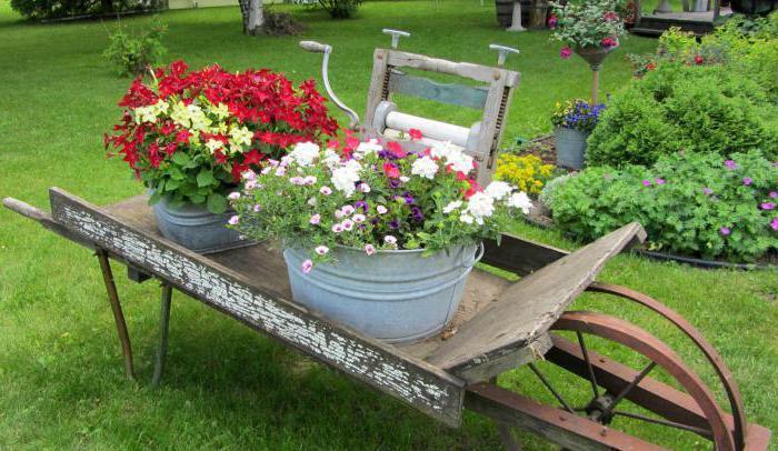 садовая тележка своими руками фото