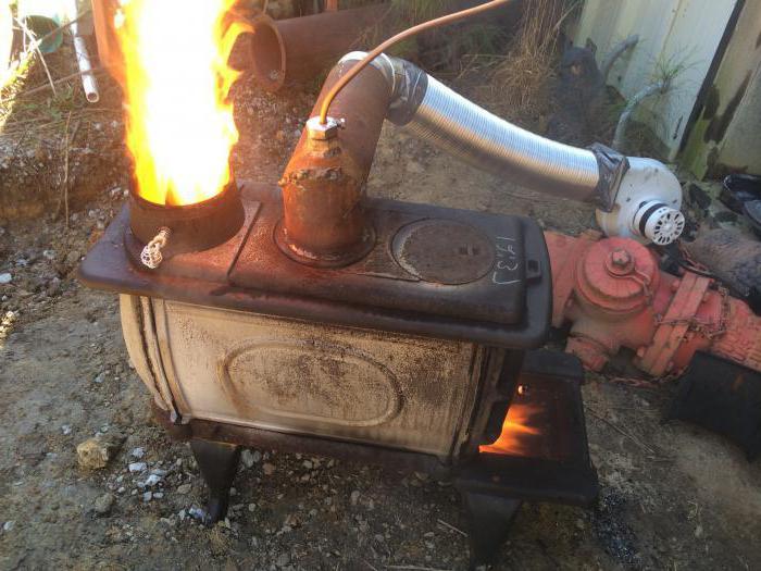 печь для сжигания отходов