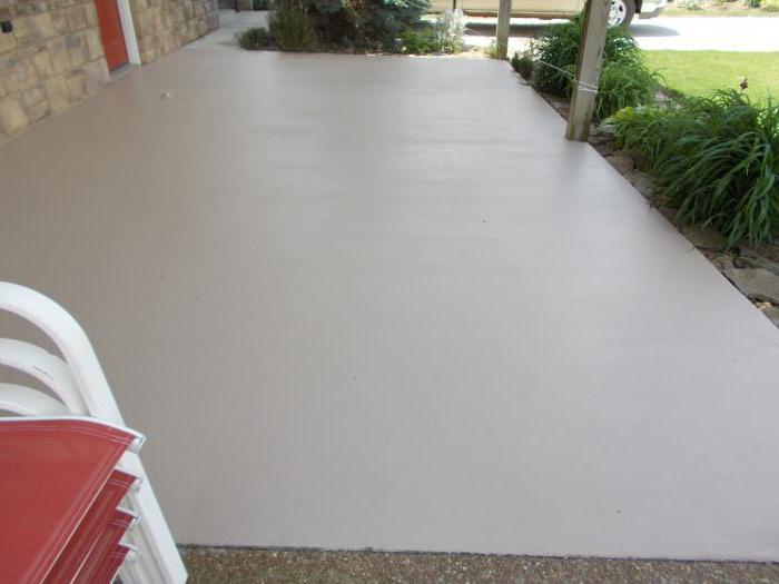 покрытие для бетона на улице фото новым статусом