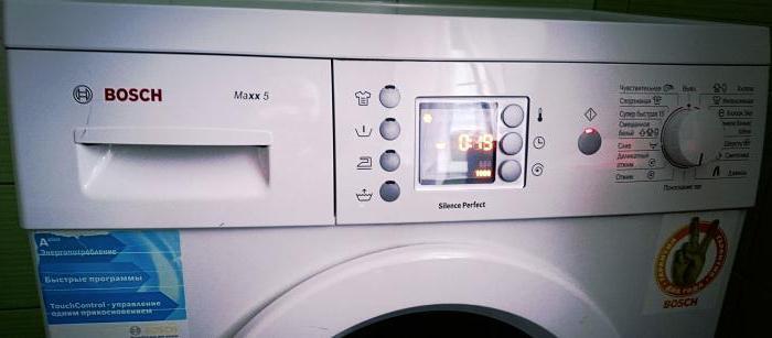 bosch vaskemaskine service