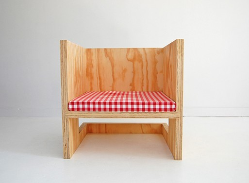 do-it-yourself plywood chairs