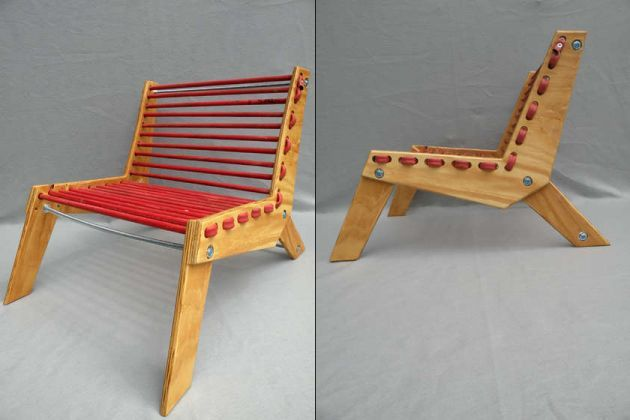 do-it-yourself plywood folding chairs