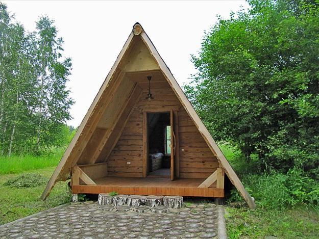дом с крышей до земли проект
