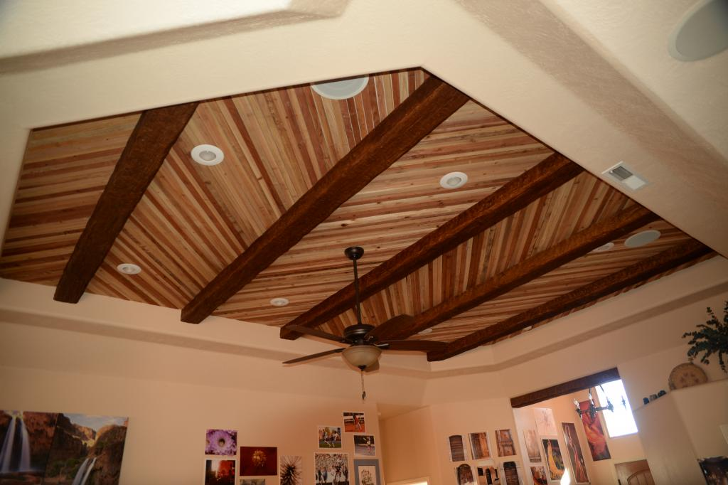 ceiling board in the house