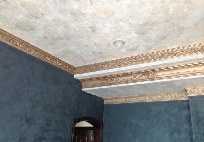 декоративная штукатурка стен потолков