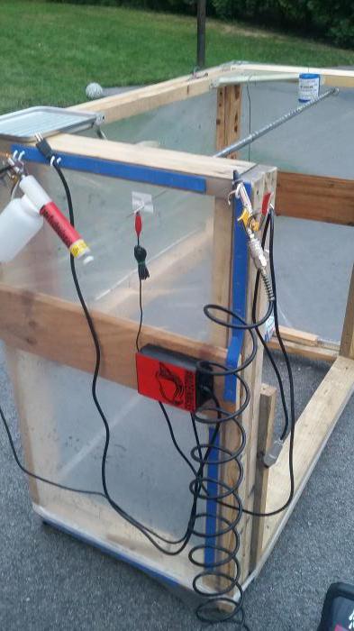 электростатическая коптильня холодного копчения своими руками
