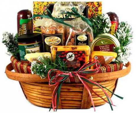 подарочные продуктовые корзины для мужчин