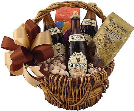подарочная продуктовая корзина для женщин