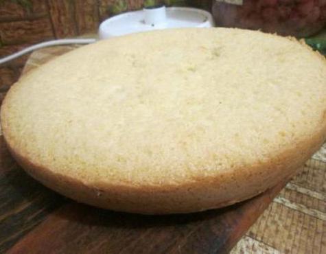 Как сделать коржи для торта в мультиварке